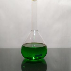 volumetric flask with plastic stopper